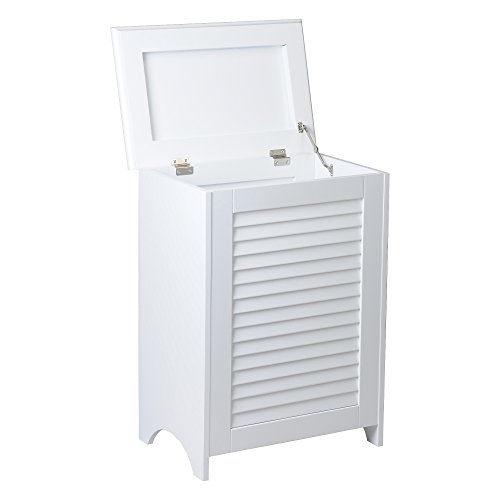 Redmon 5208 KD White Louvered Hamper by Redmon (Image #1)