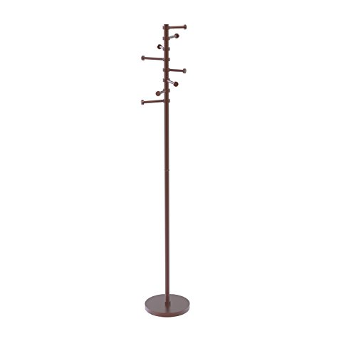 Allied Brass CS-1-CA Free Standing Coat Rack with Six Piv...