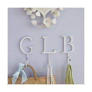 shaped letter alphabet hook letter m