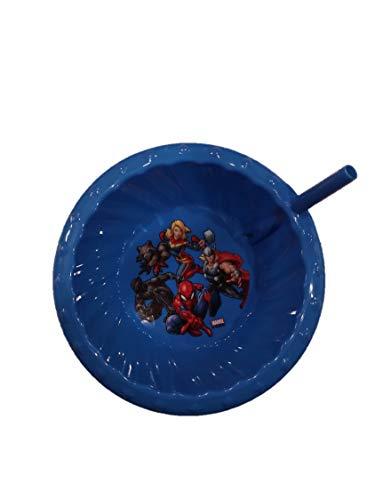 Zak Designs Marvel Super Hero (Thor, Captain Marvel, Rocket Raccoon, Black Panther & Spiderman) Children