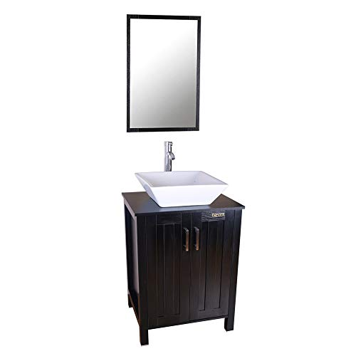 "eclife 24"" Bathroom Vanity Cabinet And Sink Units Modern Sta"
