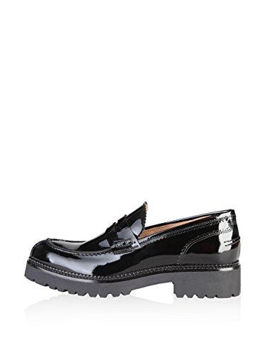 Italia Mocassins Shoes Femme Noir in Made 8qn6P5qfw