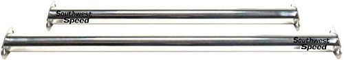 NEW 1932 FORD FRONT & REAR SPREADER BARS, CHROME PLATED, FITS BETWEEN FRONT & REAR FRAME RAILS, GREAT FOR ROADSTERS, COUPES, STREET RODS, HOT RODS, RAT RODS, PICKUPS, NOSTALGIA RODS, - Roadster Pickup 1932 Ford