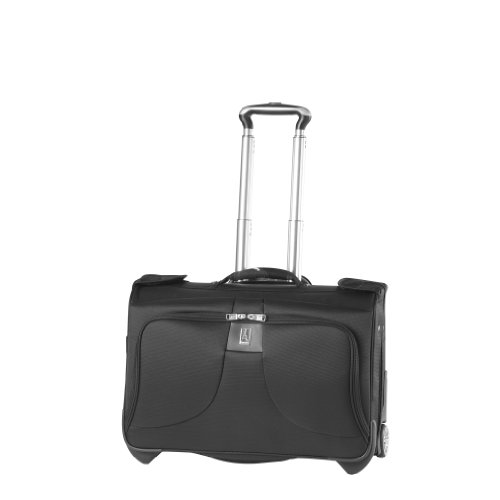Travelpro Luggage WalkAbout LITE 4 Carry-on Rolling Garment Bag, Black, One Size, Bags Central