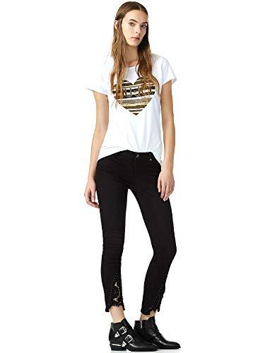Blanco Camiseta W19422j9944 Mujer Jo Liu wSxOH1Tqa1