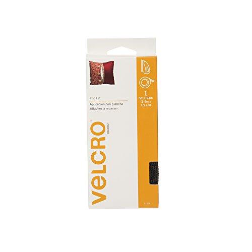 VELCRO Brand Iron Tape Black