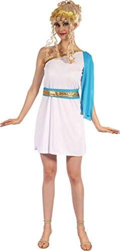 Onlyglobal Disfraz de diosa romana griega, para mujer, de la marca ...