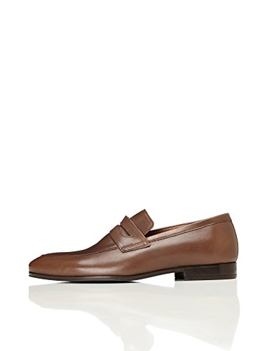Uomo in Brown Mocassino FIND Marrone Pelle 8qBxH