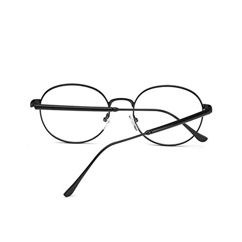 Meisijia A Frame Vintage Objectif lunettes 20 ordinaire lunettes Transparent rétro Mode or optique FrFqg