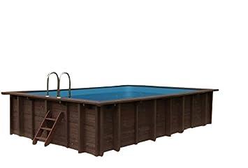 Piscina Summer Oasis, Jardín Piscina de y 96188, madera, rectangular piscina, 6