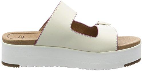 Flat Sandal Ugg Hanneli Women's White PCqCzOw7x