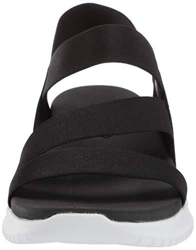 Skechers Women's Flex-Ultra Boogie-Stretch Gore Strap Sandal