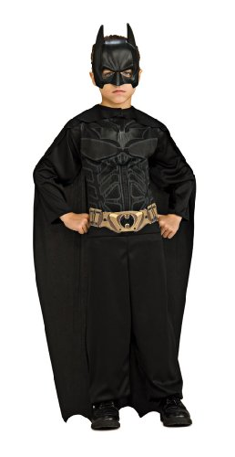 Batman Dark Knight Rises Child's Economy Batman Costume - Medium (Dark Night Halloween Costumes)