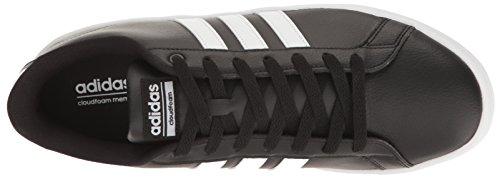 Sneakers Adidas Mens Cloudfoam Advantage Nere / Bianche / Bianche