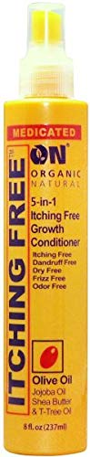 On Orgainc Natural 5-in-1 Itching Free Growth Conditioner with Olive Oil 8oz