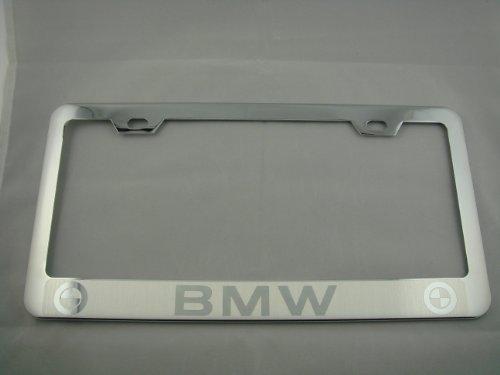 license plate frame for bmw 328i - 7