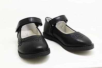 Mon Ami Girls School Shoes Black 31EU
