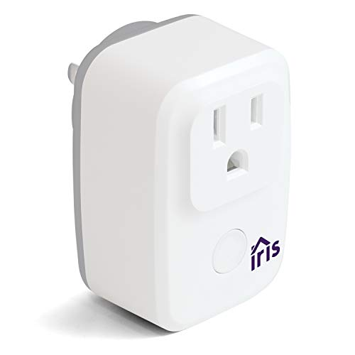 Swann Lowes Iris Wi-Fi Smart plug/Smart Switch, Iris W-Fi Smart Switch, White (IRIS-WSP1PA-LW), Works with Alexa