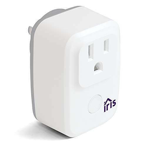 Swann Lowes Iris Wi-Fi Smart plug/Smart Switch, Iris W-Fi Smart Switch, White (IRIS-WSP1PA-LW), Works with Alexa