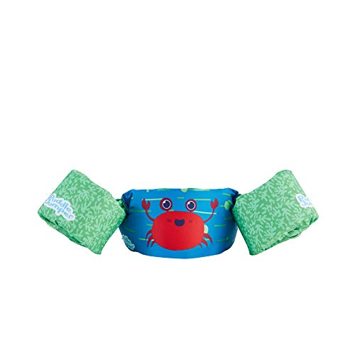 Stearns Puddle Jumper Kids Life Jacket | Life Vest for Children, Red Crab, 30-50 Pounds