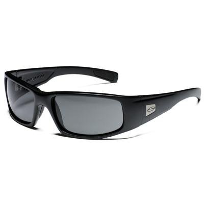 Smith Optics Hideout Tactical Sunglass with Black Frame (Polarized Gray Lens) by Smith Optics Elite