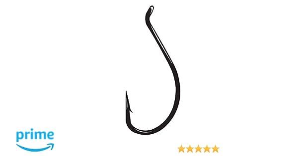 Gamakatsu Walleye Wide Gap Hook-Pack Of 25 Black, 1
