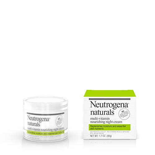 31tGSxB1o8L - Neutrogena Naturals Multi-Vitamin Moisturizing & Nourishing Night Face Cream with Antioxidant Bionutrients & Vitamins B, C & E, Non-Comedogenic & Sulfate-, Paraben-, Phthalate- & Dye-Free, 1.7 oz