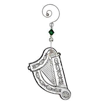 (Waterford Crystal 2013 Irish Harp Ornament)