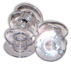 niceEshop(TM) Sewing Machine Bobbins for Singer (Clear, Set of 10)
