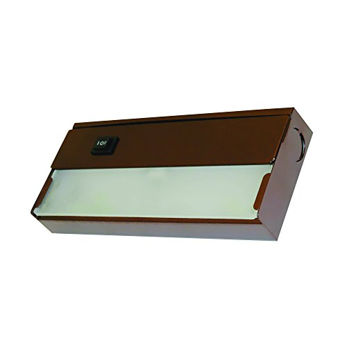 Yosemite Home Decor AM-XN01BZ  1 Light Under Cabinet Xenon Light in Bronze Finish with Frosted Glass Diffuser