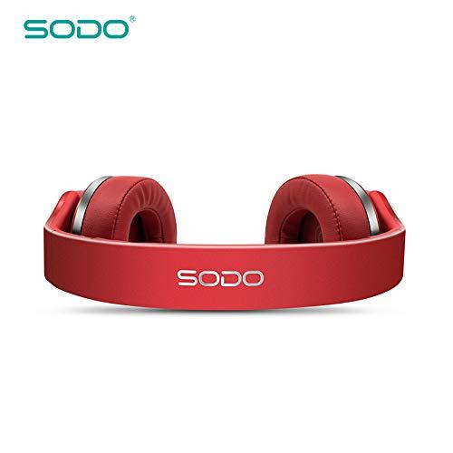 HEADPHONE,OVER-EAR,MP3,FM RADIO,SPEAKER,2 EN 1,WIRELESS RED