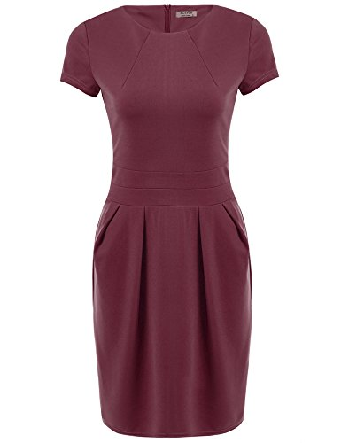 ACEVOG-Womens-Official-Wear-to-Work-Retro-Business-Bodycon-Pencil-Dress