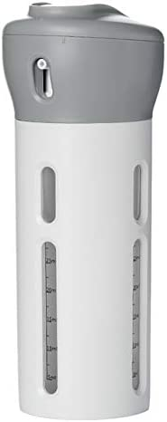 G-rf 旅行便利グッズ バッグ 2 PCS 1本のポータブルトラベルボトルセット組織防水トイレタリー詰め替え液体容器内の4(ピンク) 保管 整理 (Color : Light Grey)