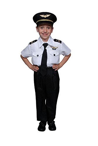 Baby Boys - Pilot Boy Toddler Costume Halloween (Ready For Take Off Pilot Costumes)
