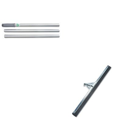 Unghm750 Heavy Duty Water Wand (KITUNGAL14GUNGHM750 - Value Kit - Heavy Duty Water Wand Squeegee, 30quot; Wide (UNGHM750) and Unger Pro Aluminum Knock Down Handle (UNGAL14G))