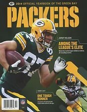 (Green Bay Packers 2014 Official YearboOk New Mint! Jordy Nelson and Eddie Lacy on Cover No Labels!)