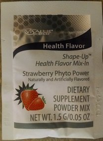ViSalus Shape-Up Health Flavor Mix-In Strawberry (15 Pack...