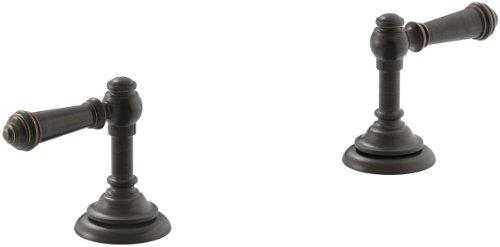 KOHLER K-98068-4-2BZ Artifacts Bathroom sink lever handles, Less Spout, Oil-Rubbed Bronze by Kohler
