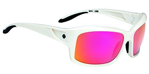 Spy Optics Women's Libra White Pearl Wrap Sunglasses