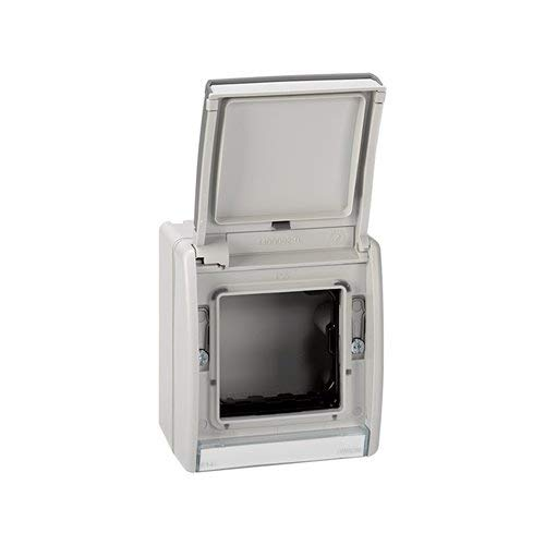 Simon 4490783-035 - Caja Vacia Gris Ip55 Con Tapa
