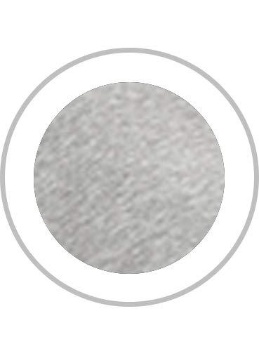 CRZ YOGA Women's Pima Cotton Workout Activewear Travel Sports T-Shirt Short Sleeve Tee Heathered Medium Grey XL(14)