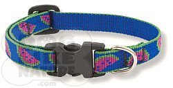 Lupine Watermelon 1 2 Collar Small by Dog Like Nature