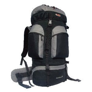 CUSCUS 6200ci 88L Internal Frame Hiking Camp Travel Backpack Gray, Outdoor Stuffs