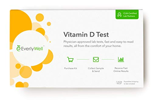 EverlyWell - at-Home Vitamin D Test - More Than Just Sunshine, Vitamin D is Crucial for Bone Health (Not Available in MD,NY, NJ, RI)
