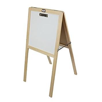 3 en 1 Niños magnético de pie Art caballete de madera ...