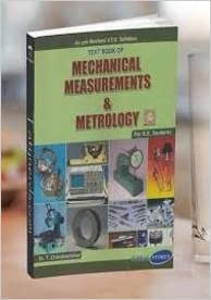 Mechanical Measurements And Metrology Ebook