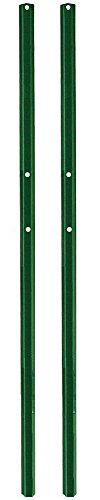 - 2 Pack Steel Sign Posts 4 ft in length