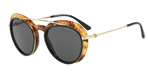 Giorgio Armani AR6055 - 302187 Gold / Top Black - Yellow - Giorgio Top Armani