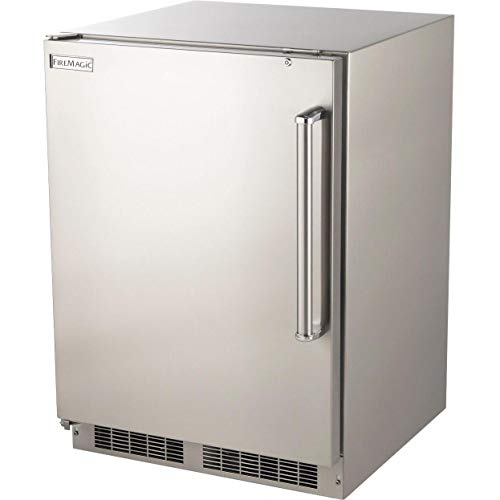 Fire Magic 24-inch 5.1 Cu. Ft. Left Hinge Outdoor Rated Compact Refrigerator - 3589-dl (Refrigerator Fire Magic)
