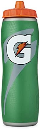 Garrafa Gatorade Gator-skin de 946 ml, verde, tamanho único